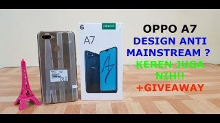 OPPO A7 UNBOXING + GIVEAWAY INDONESIA