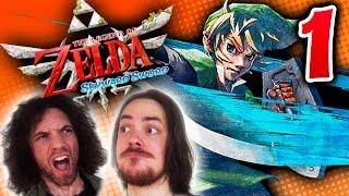 Zelda Skyward Sword: Looking Amazing - PART 1 - Game Grumps