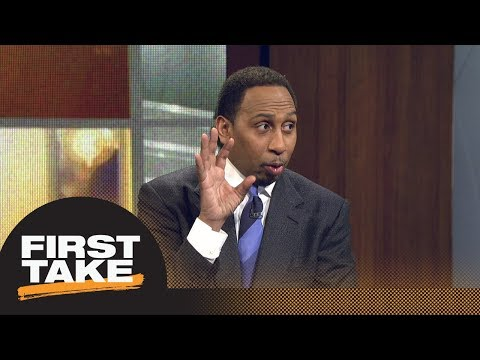 Stephen A. Smith reveals his problem with Bleacher Report's top 10 NBA players   First Take   ESPN