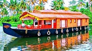 Beautiful Alleppey Houseboats - Kerala, India