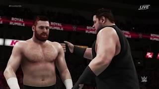 WWE Royal Rumble 2018 | AJ Styles (c) vs Kevin Owens/Sami Zayn