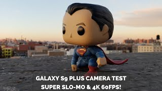 Galaxy S9 Plus Camera Test: Super Slo-mo & 4k 60FPS!