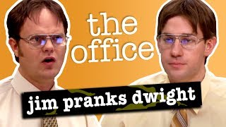 Jim's Pranks Against Dwight - The Office US
