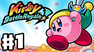 Kirby Battle Royale - Gameplay Walkthrough Part 1 - Story Mode Beginner's League! (Nintendo 3DS)
