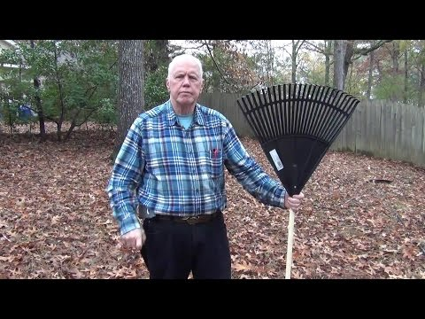 How To Rake (Bag) Leaves - the EASY WAY!