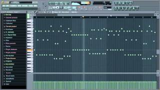 Infected Mushroom - Smashing The Opponent - 1st one minute remake in FL Studio