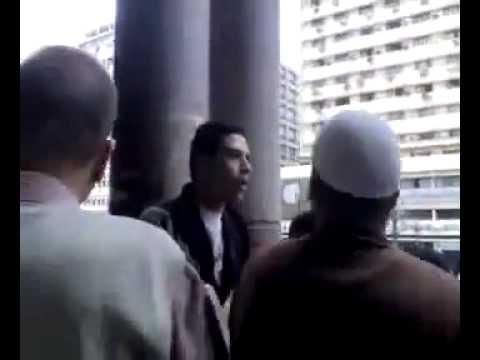 شيعي يسب السعوديه في مصر شاهد ما حدث له