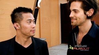 John Apple Jack Stars Talk Kissing Chemistry at FilmOut San Diego