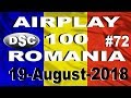 Romanian Top 100 Airplay August 19, 2018 #72