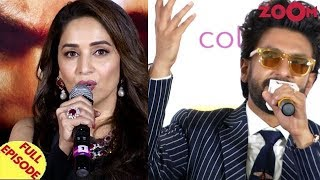 Madhuri talks about replacing Sridevi in Kalank | Ranveer talks about restrictions by Deepika & more