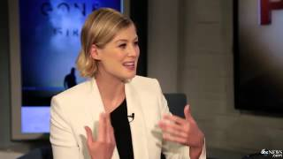 Rosamund Pike on the Challenges of Playing Amy Dunne in 'Gone Girl'
