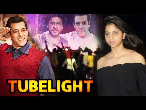 Xxx Mp4 Shahrukh Khan STEALS The Show In Salman S Tubelight SRK S HOT Daughter At Tubelight Screening 3gp Sex