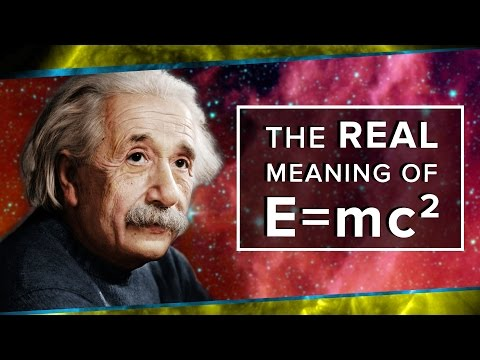 The Real Meaning of E mc² Space Time PBS Digital Studios