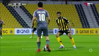 مباراة : الدحيل 6 - 0 قطر دوري نجوم QNB