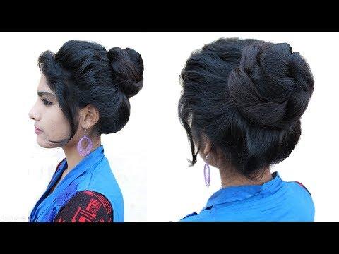 Xxx Mp4 Easy Messy Bun Hairstyle Messy Bun Juda Hairstyle Bridal Bun Hair Style Juda Hairstyle 3gp Sex