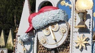 It's A Small World Holiday 2013 Complete Ride POV Disneyland California