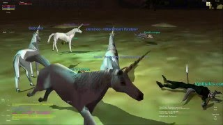 Everquest old school : Part 228 - Unicorn Party - East Commons - High Elf Cleric