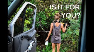 VAN LIFE CONFESSIONS | The Downsides of Living in a Van