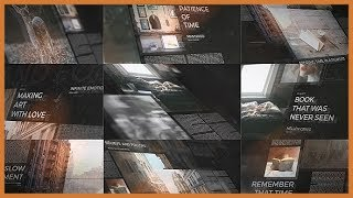 Inspiring Story ( After Effects Project Files)