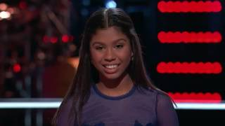The Voice 2017 Battle Aliyah Moulden vs Dawson Coyle Walking on Sunshine