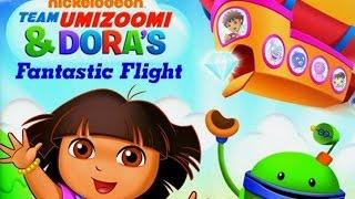 Dora and Team Umizoomi Fantastic Flight Nintendo game - best app demos for kids