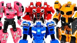 They are back! Miniforce X commando X machine transform combine robots appeared! - DuDuPopTOY
