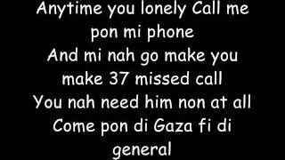Vybz Kartel Cheat Pon Him (Lyrics)