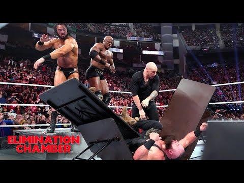 Xxx Mp4 Drew McIntyre Bobby Lashley Viciously Assault Braun Strowman WWE Elimination Chamber 2019 3gp Sex