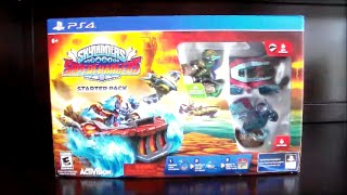 Skylanders Superchargers PS4 Starter Pack Unboxing