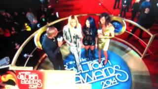 Tamar Braxton Interviews Lil' Kim at the 2014 Soul Train Awards