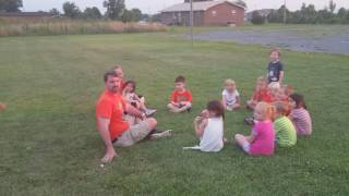 More duck duck goose.  Doesn't get better than this!