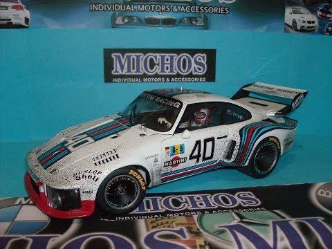1/18 Porsche 935 #40 24h Le Mans Martini'/ Exoto [RLG18105SFL] Diecast Model