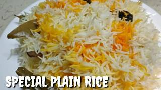 Special Plain Rice