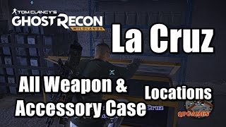 Ghost Recon Wildlands All Weapon & Accessory Case Medal Locations – La Cruz Region