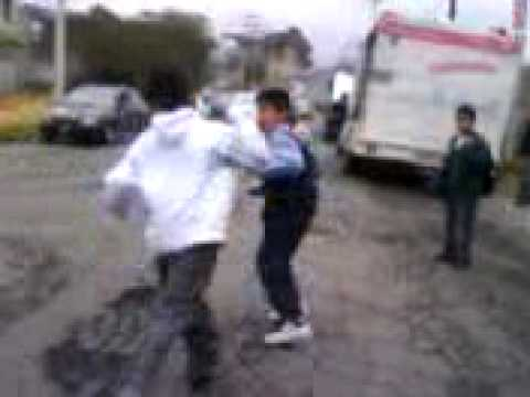 pelea de Alexis vs chama ETI 34