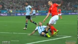 Argentina VS Netherlands  2014 highlights &  Penalties 2-4 Full HD - World Cup Brazil 2014