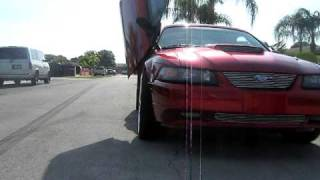 candy red mustang part 2
