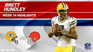 Brett Hundley's Superb Game w/ 3 TDs vs. Cleveland! | Packers vs. Browns | Wk 14 Player HLs