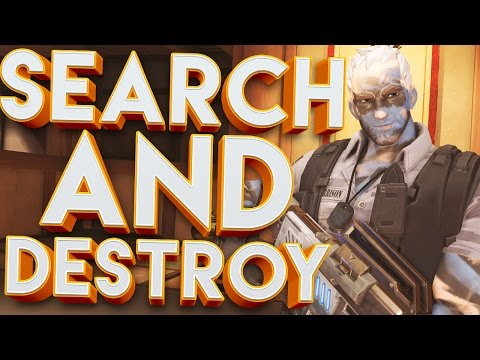 OVERWATCH SEARCH AND DESTROY CUSTOM GAMEMODE!!