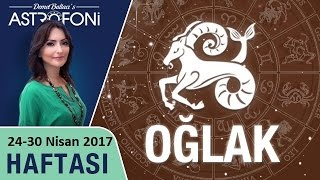 Oğlak Burcu Haftalık Astroloji Yorumu 24-30 Nisan 2017