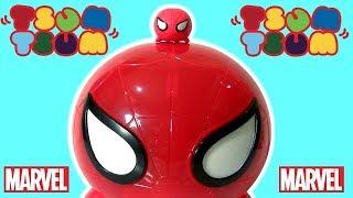 Toys BR Carrinho Homem-Aranha Tsum Tsum Display   Marvel Tsum Tsum Spider-Man Display Disney ToysBR