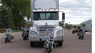 Motorcycle VS  Semi Truck