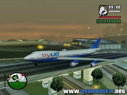 todos os avioes do gta san andreas