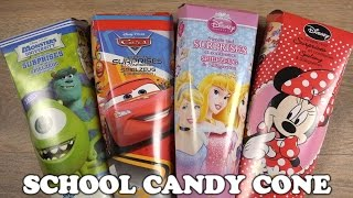 SCHOOL CANDY CONE - DISNEY Cars Princess Minnie Mouse Monster University