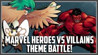 Pokemon Theme Battle - Marvel Heroes vs Villains Ft. Original151