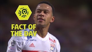 Memphis Depay scores his first Lyon hat-trick in the Ligue 1 Conforama : Week 10 / 2017-18