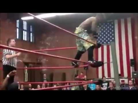 Wrestling FAIL, Almost Kills!!