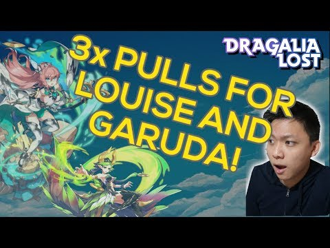 Xxx Mp4 DRAGALIA LOST 3x Tenfold Summons For Louise And Garuda Winds Of Hope 3gp Sex