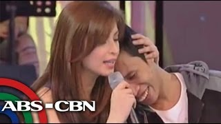 Angel Locsin does 'PDA' with Vice Ganda