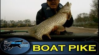 How to catch Big Pike from a Boat - The Totally Awesome Fishing Show